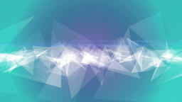white triangles abstract seamless loop geometrical motion background Animation