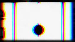 Monochrome Film Reel Leader Footage