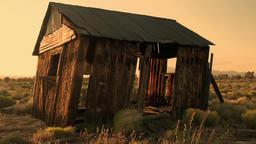 Old House Desert Timelapse Footage