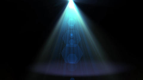 blue spot light animation Animation