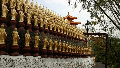 Fo Guang Shan Monastery, great buddha land Footage