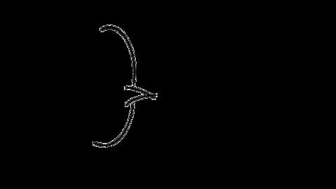 Handwritten speech bubble like a women's magazine01 Animation