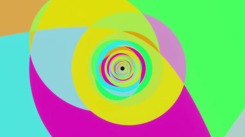 VJ loop color abstract of bright colors Animation
