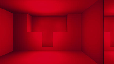 Broadcast Passing Hi-Tech Wash Space Alley, Red, Transport, 3D, HD Animation