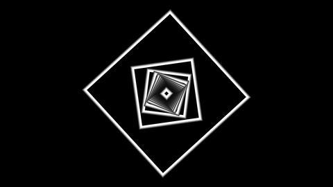 Rotating expanding squares Animation