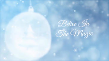 Beautiful Christmas After Effects Projekt