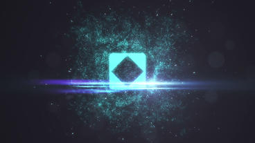 Particle Light Orb Explosion Business Logo Intro Plantilla de After Effects