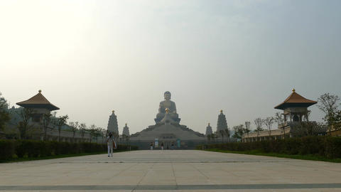 Fo Guang Shan Buddha memorial center, Big Buddha Footage