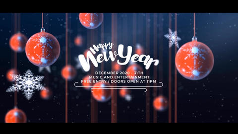 Christmas Party Invitation After Effects Template