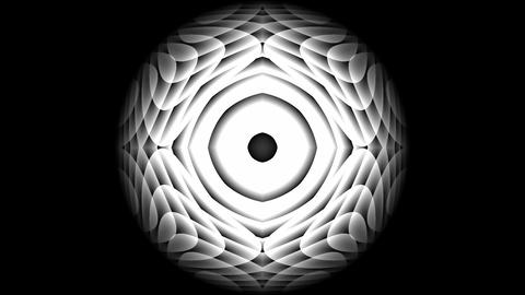 Expanding-collapsing geometric shapes Animation