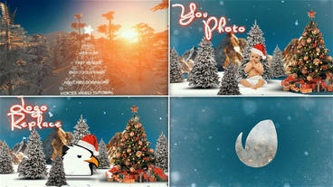 Christmas Logo Opener Dubstep After Effects Template