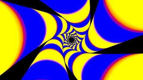 Expanding geometric shapes Animation