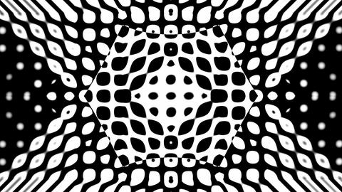 Collapsing geometric shapes Animation