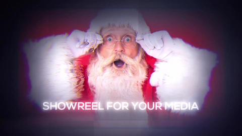 Parallax Christmas slideshow After Effects Template
