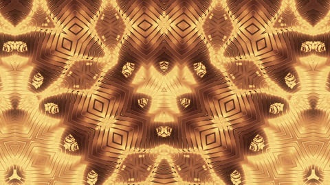 Metal Stripes Kaleidoscope Animation