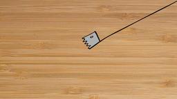 Diagonally Wood Cutting Animation