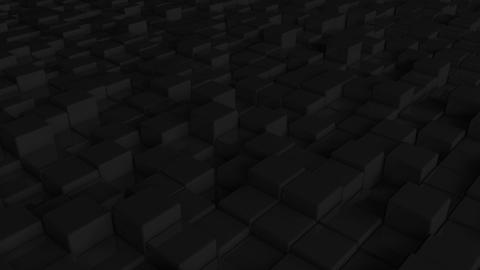 Abstract cubes squares black squares pattern background squares cubes diagonal black Animation