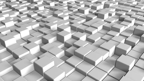 Abstract modern cubes squares white squares pattern background squares cubes Animation