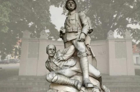 Kriegerdenkmal 3D Model