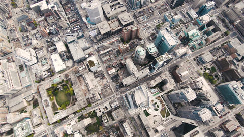 Aerial sequence of toronto canada 3 Live Action