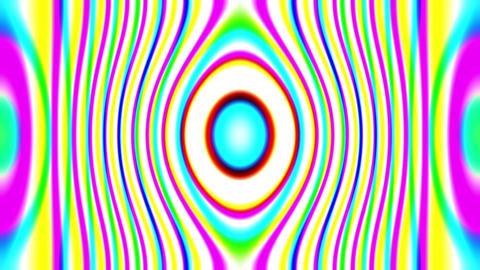 Flashing Psychedelic Retro 60s Kaleidoscope Lightshow VJ Motion Loop 2 Animation