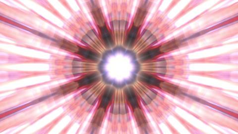 Radiating Pulsating Rays Psychedelic Kaleidoscope Motion Background Loop 1 Animation