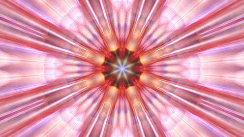 Radiating Pulsating Rays Psychedelic Kaleidoscope Motion Background Loop 2 Animation