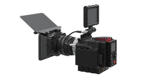 Camera video black professional Footage