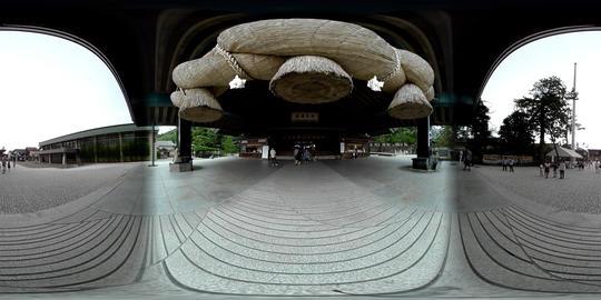 Izumo-taisha vol.2 Kaguraden -VR Japan - VR 360° Video