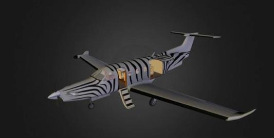 Pilatus pc 1247 3D Model