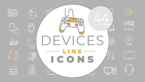 Devices Icons After Effects Template