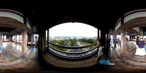 Matsue Castle vol.3 top floor -VR Japan - VR 360° Video