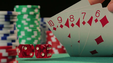 Successful poker player catches straight flush, gets a chance to defeat rivals Live Action
