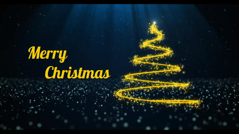 Christmas Tree Intro After Effects Template