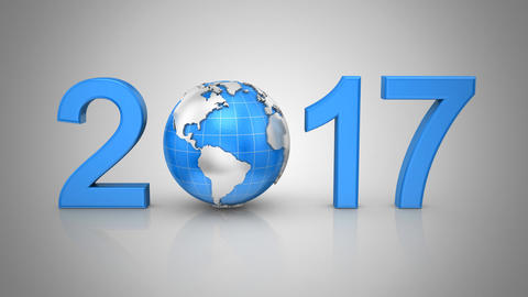 New Year 2017 Animation