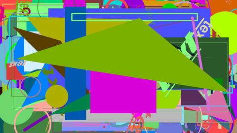 Random graphics shapes animation Animation