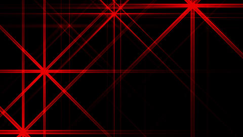 Red Night Abstract Lights Flashes Rays Stars VJ Motion Background Loop Animation