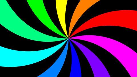 Rainbow Spectral Spiral