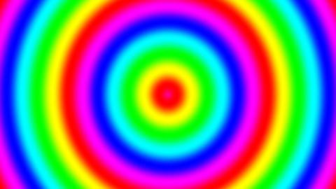 Rainbow spectral gradient, seamless loop GIF