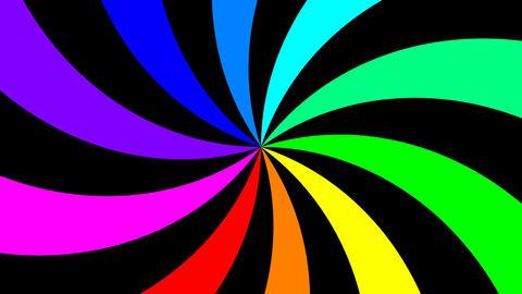 Rainbow Spectral Spiral 0
