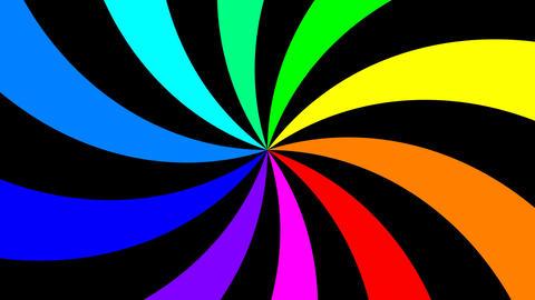 Rainbow Spectral Spiral 1