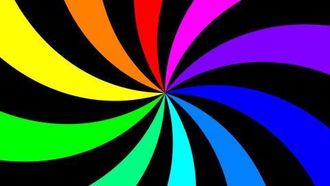 Rainbow Spectral Spiral 2