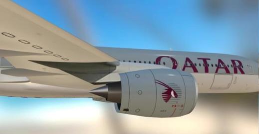 A350 qtr 3D Model