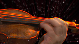 Violin in the Star Animation