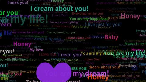 Love Concept Words 0