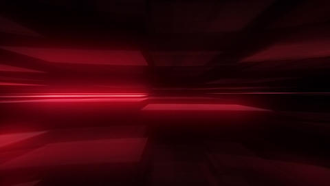 Glowing Blurred Light Rays Loop Motion Background - Red Color Animation