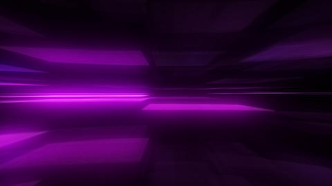 Glowing Blurred Light Rays Loop Motion Background - Purple Color Animation