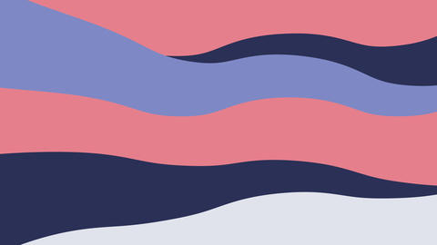 Abstract wavy graphic shape motion GIF