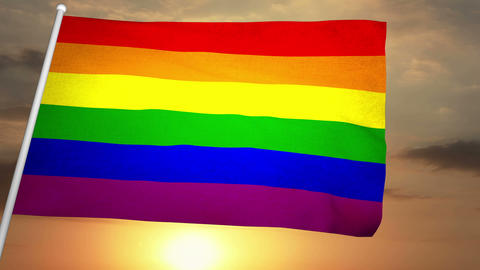 Gay Flag 02 Animation