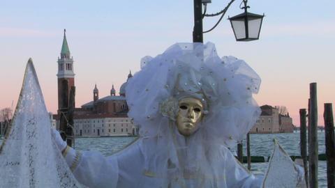 venetian mask 12 Stock Video Footage